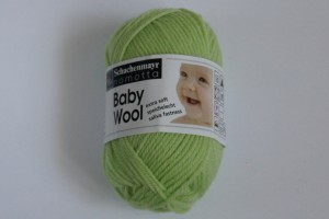 Baby Wool - Zielony - 00070
