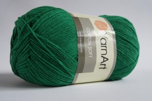 Cotton Soft - Zielony ciemny - 052