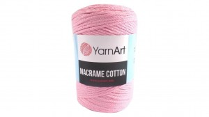 Macrame Cotton - 762 - Róż baby