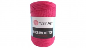 Macrame Cotton - 771 - Róż