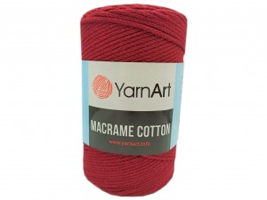 Macrame Cotton - 781 - Bordowy
