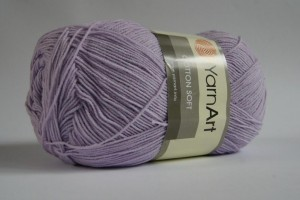 Cotton Soft - Fiolet jasny - 019