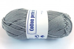 Cotton Perle - 232 - Szary